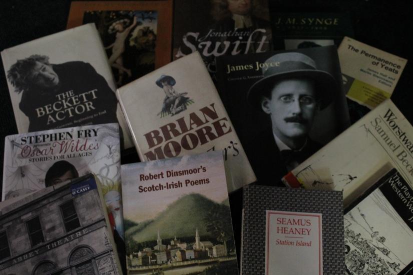 Heaney, Shaw, Synge, Beckett – Irish Poetry and Drama @walledcitybooks and@foylebooks